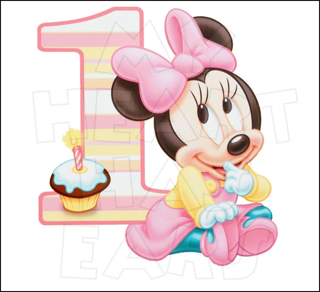Minnie 1st Birthday Clipart#1912450.