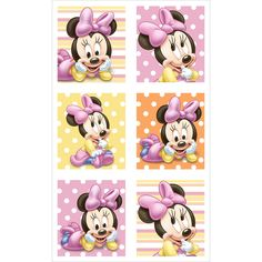 Baby Minnie Mouse 1st Birthday INSTANT DOWNLOAD digital clip art.