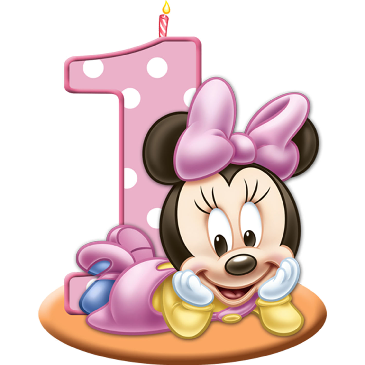 Minnie Mouse Cake Clipart.