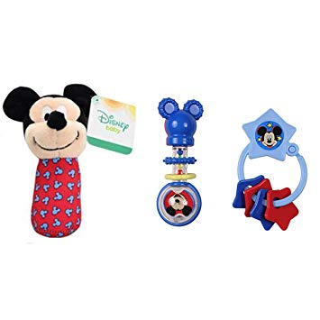 Amazon.com: Mickey Mouse or Minnie Mouse Combo Pack Barbell.