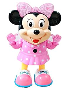Buy Baby Rattle Dancing Minnie Mouse Music Dance Let\'s Play.