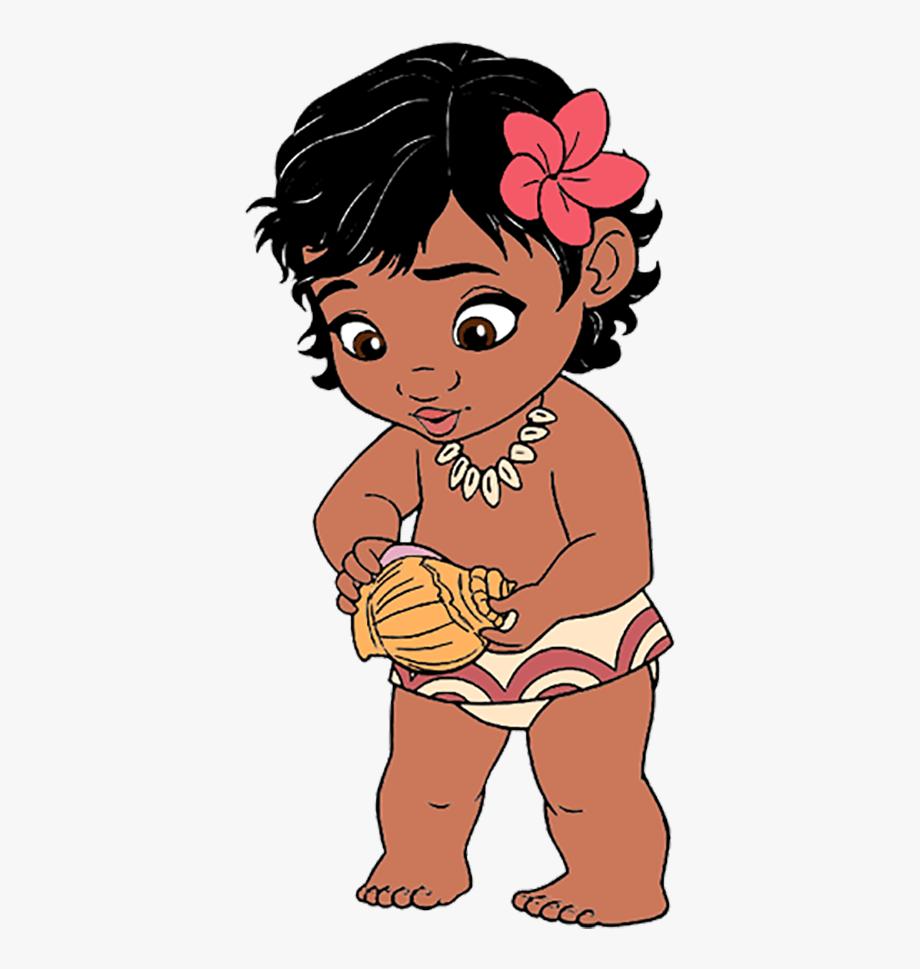 Free Baby Moana Vector #383913.