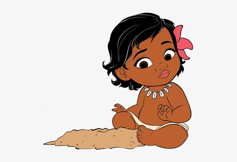 Moana Transparent Cartoon Baby.