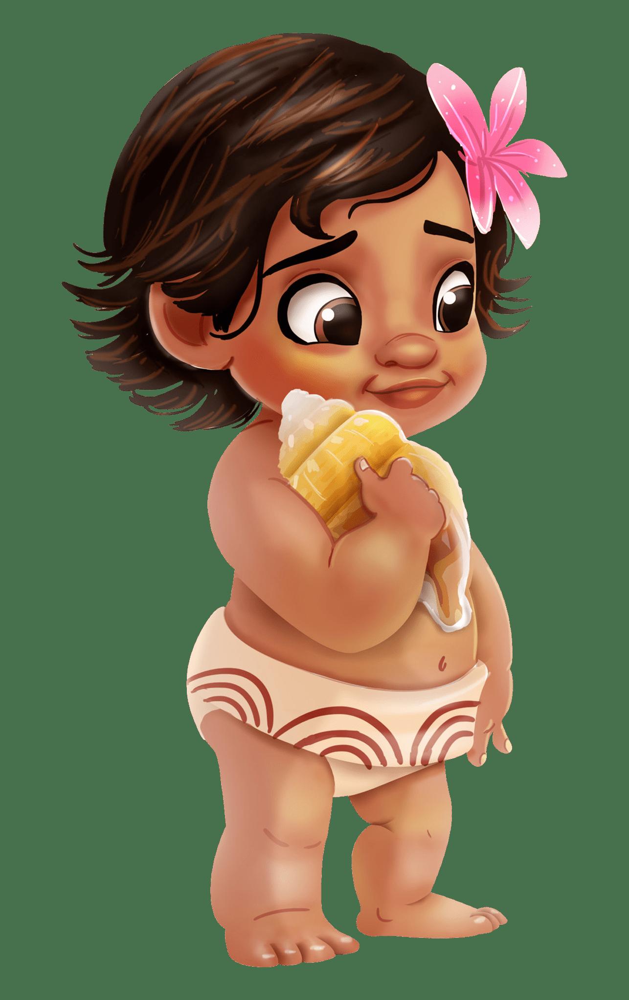 Moana Baby transparent PNG.