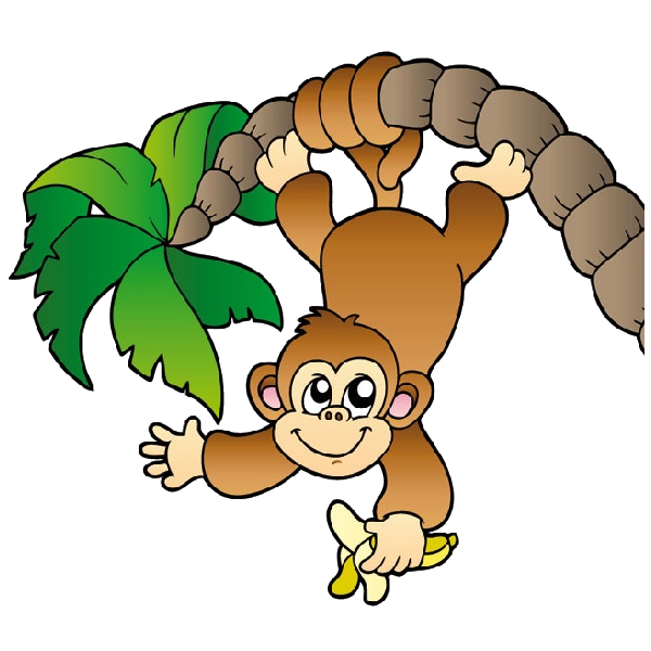 Monkey Face Clip Art Baby Monkeys Cartoon Artjpg clipart free image.