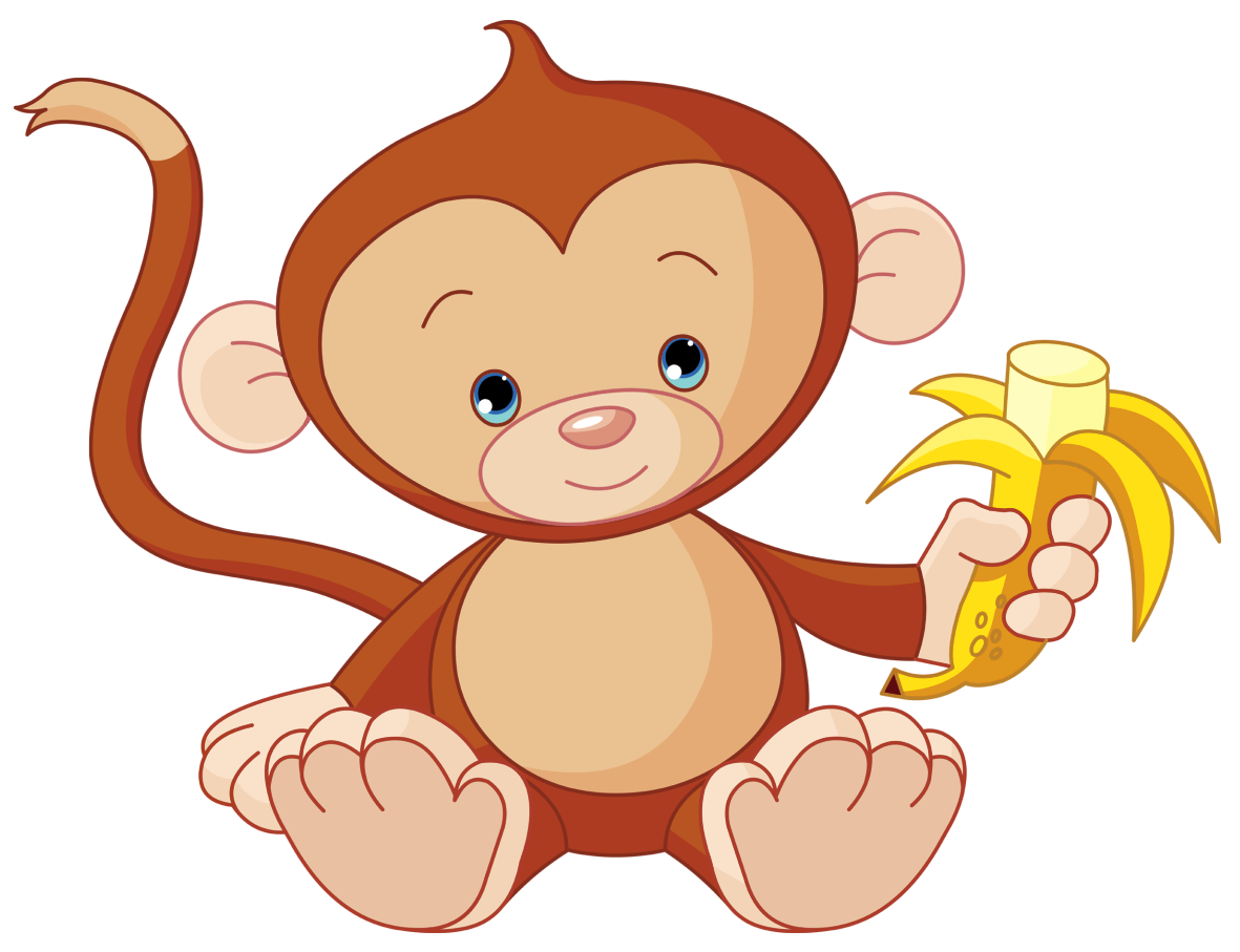 Baby Monkeys Chimpanzee Clip art.
