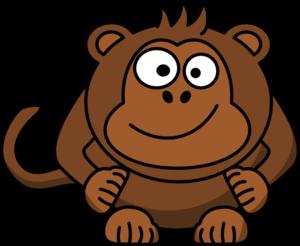 Baby Monkey Clip Art at Clker.com.