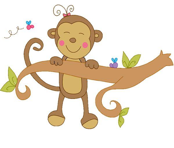 Baby Monkey Clipart Gif.