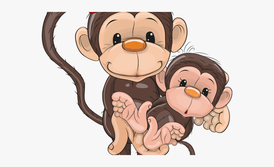 Year Of The Monkey Clipart Safari Animal.