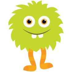Baby Monster Clipart.