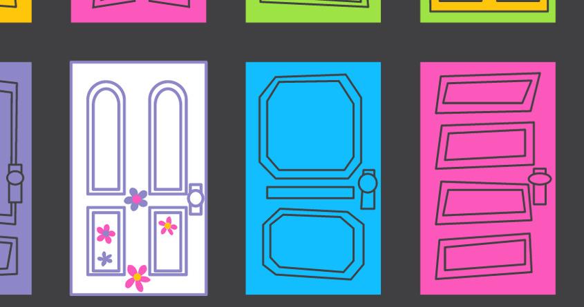 Monsters Inc Door Clipart.