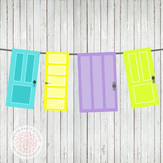 INSTANT DOWNLOAD Printable Door Banner.