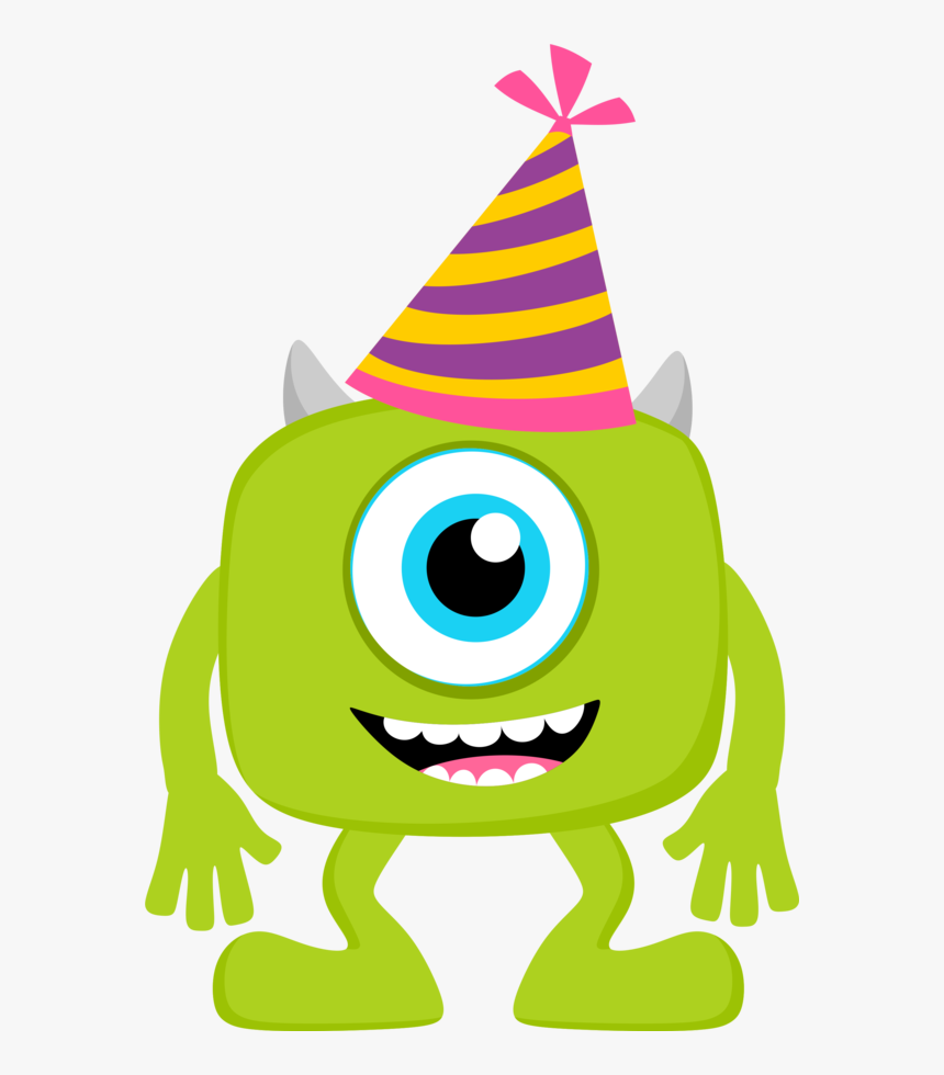 Baby Monsters Party Clipart.