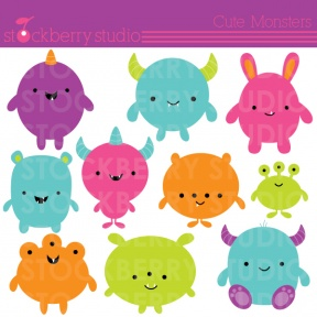 23+ Baby Monsters Clipart.