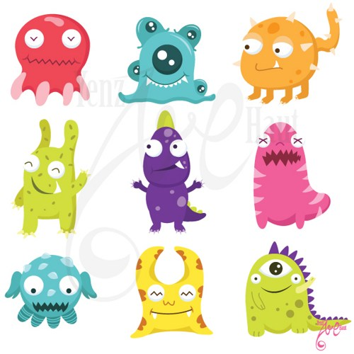 Showing post & media for Cartoon cute baby monsters.