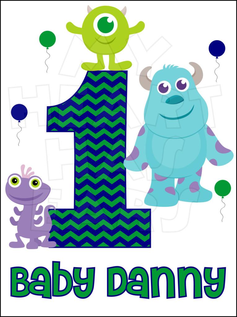 Baby Monsters Inc. Birthday.