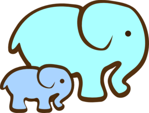 Mummy And Baby Clipart.