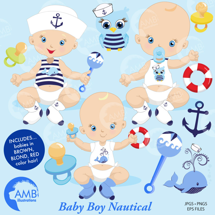 Baby nautical clipart 8 » Clipart Station.