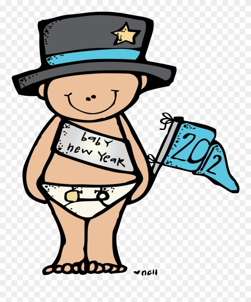 Baby New Year Clip Art.