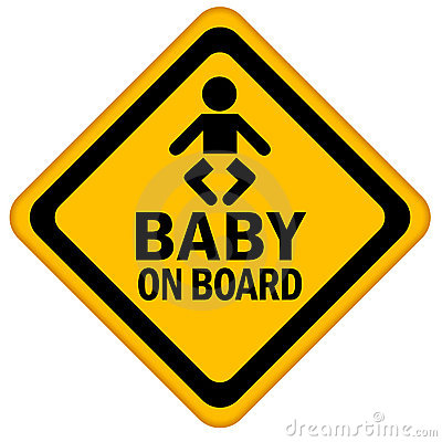Baby Board Warning Sign Stock Photos, Images, & Pictures.