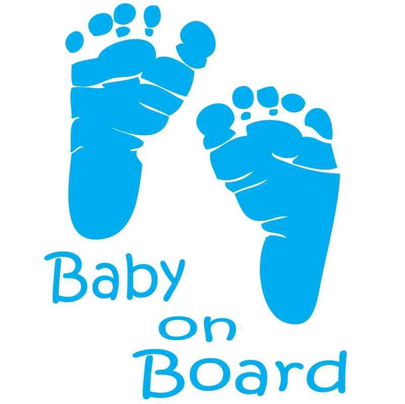 Baby boy feet clipart.
