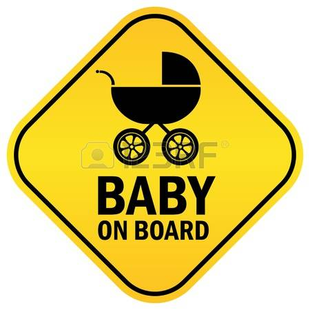 4,329 Baby On Board Stock Illustrations, Cliparts And Royalty Free.