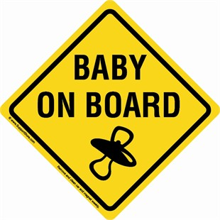 Gallery For > Baby On Board Sign Clipart.
