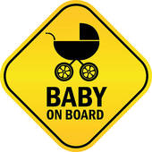 Baby On Board Clipart.