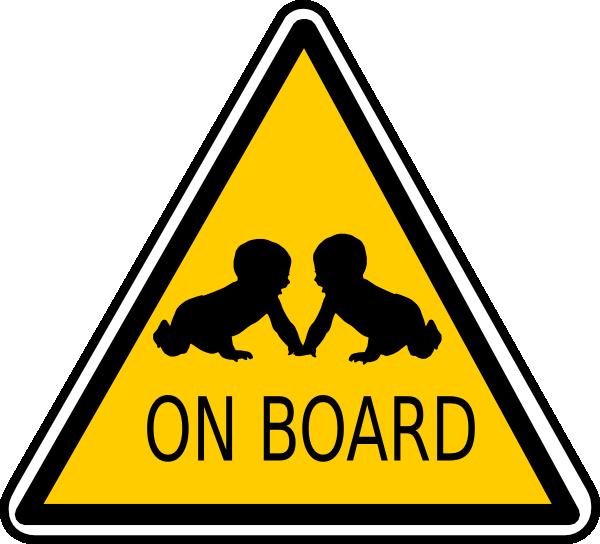 Babies On Board Clip Art at Clker.com.