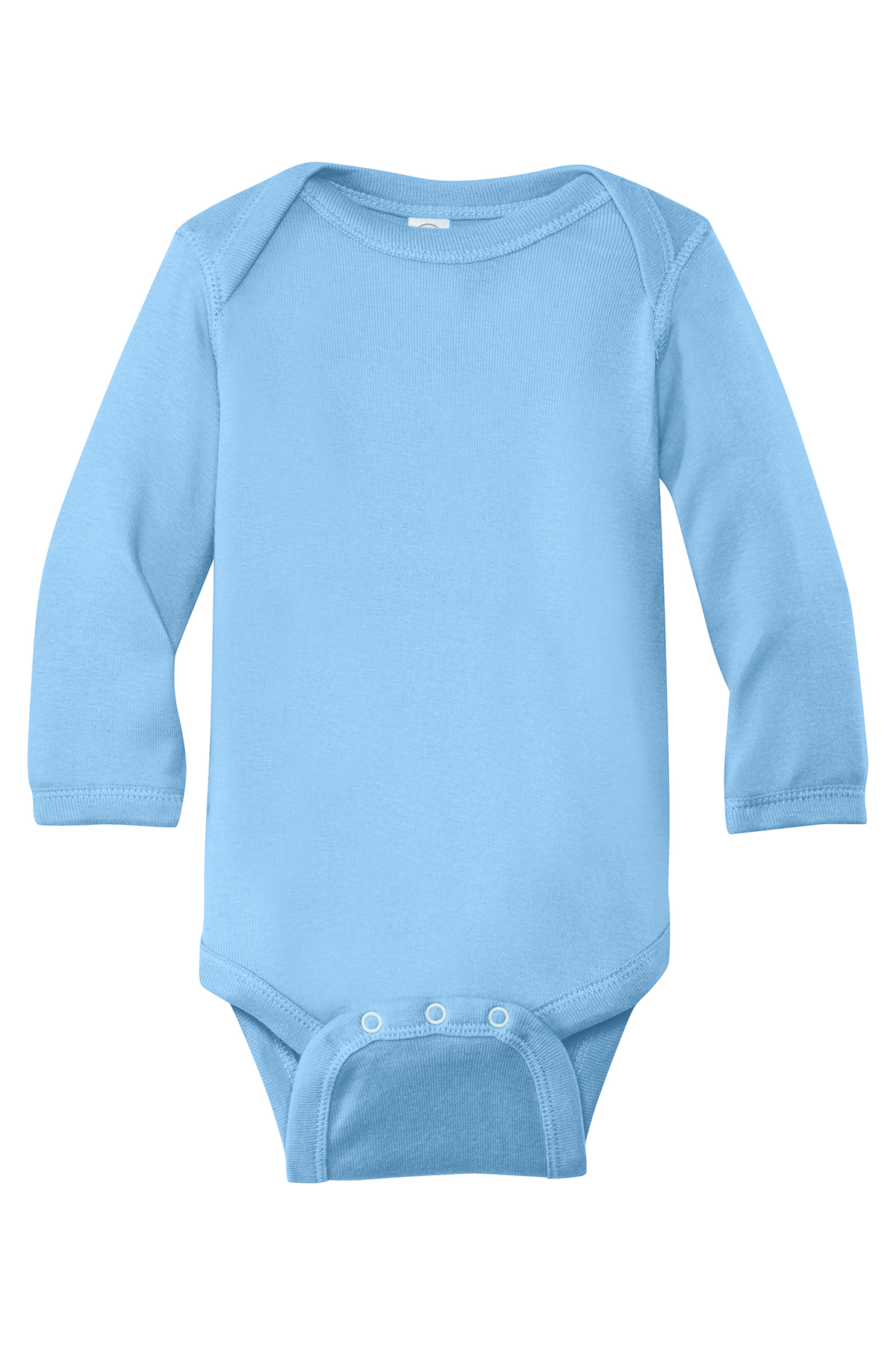Rabbit Skins™ Infant Long Sleeve Baby Rib Bodysuit.