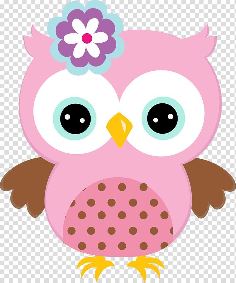 Pink owl illustration, Baby Owls Free , owls transparent background.