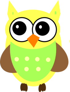 Yellow Baby Owl Clip Art at Clker.com.