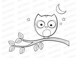 Image result for owl clipart black and white.