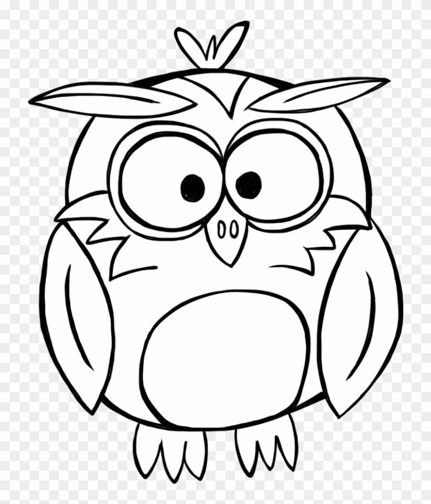 Banner Library Download Black And White Owl Clipart.
