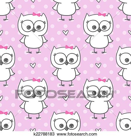 Baby owl Clipart.