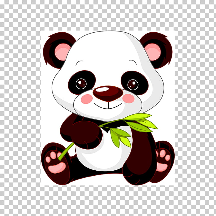 Giant panda Bear Panda Illustrations , baby panda PNG.