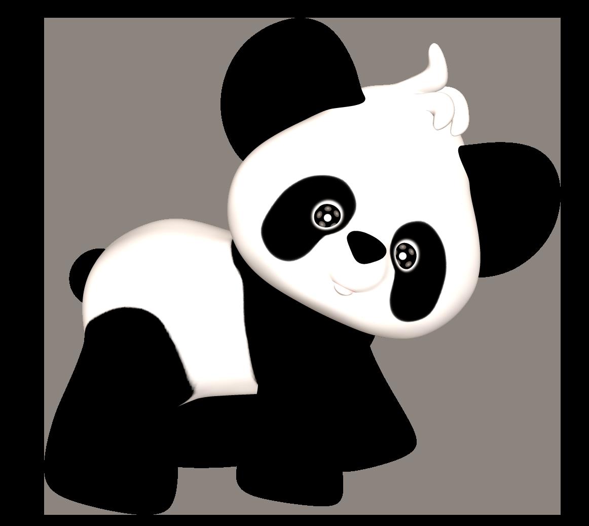 Baby Panda Clip Art.