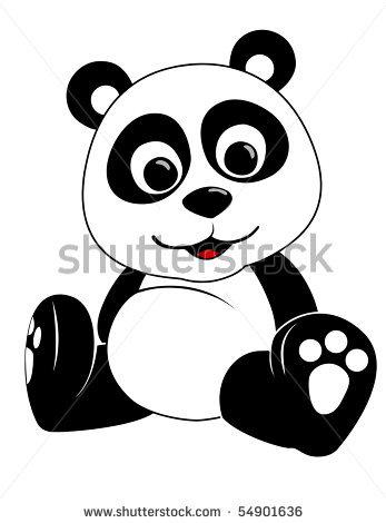 Baby Panda Clipart.