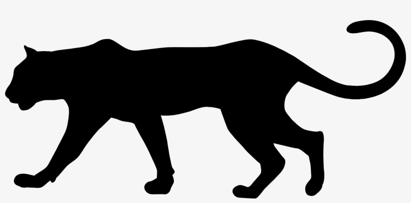 Svg Transparent Library Baby Panther Clipart.