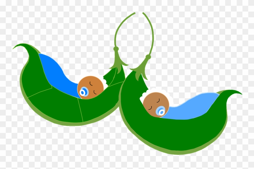 Baby Peas In A Pod Clipart (#1246133).