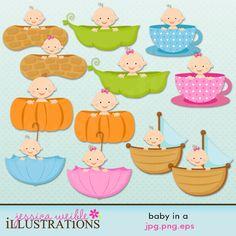 Watch more like Peanut Baby Shower Clip Art.