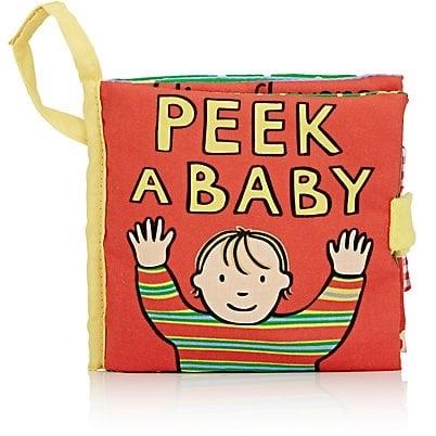 My Peek A Baby Soft Book.