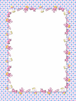Baby Frames Clipart.