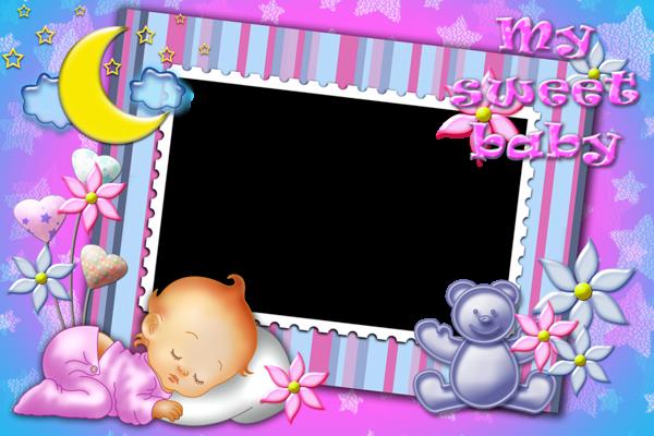My Sweet Baby Transparent Photo Frame.