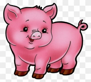Free PNG Baby Pig Clip Art Download.