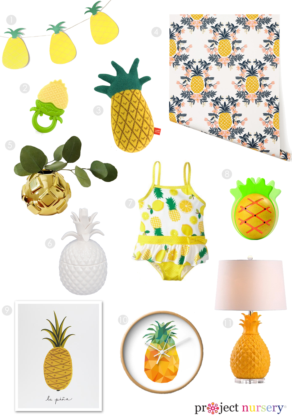 Baby Pineapple Clipart Clipground