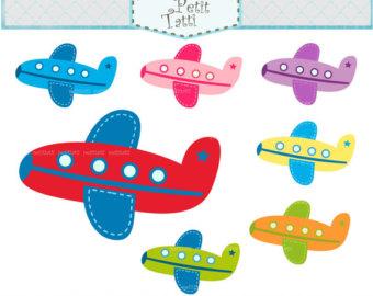 Plane clip art.