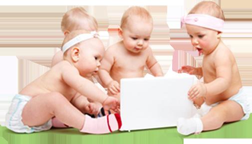 Babies PNG Download Image.