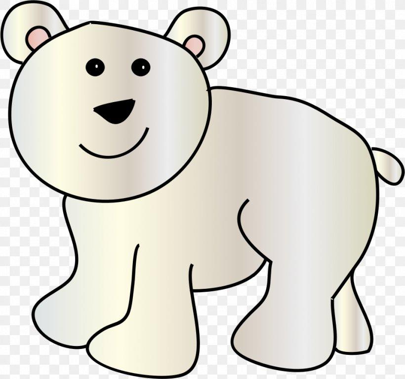 Baby Polar Bear Giant Panda Clip Art, PNG, 954x895px, Polar.