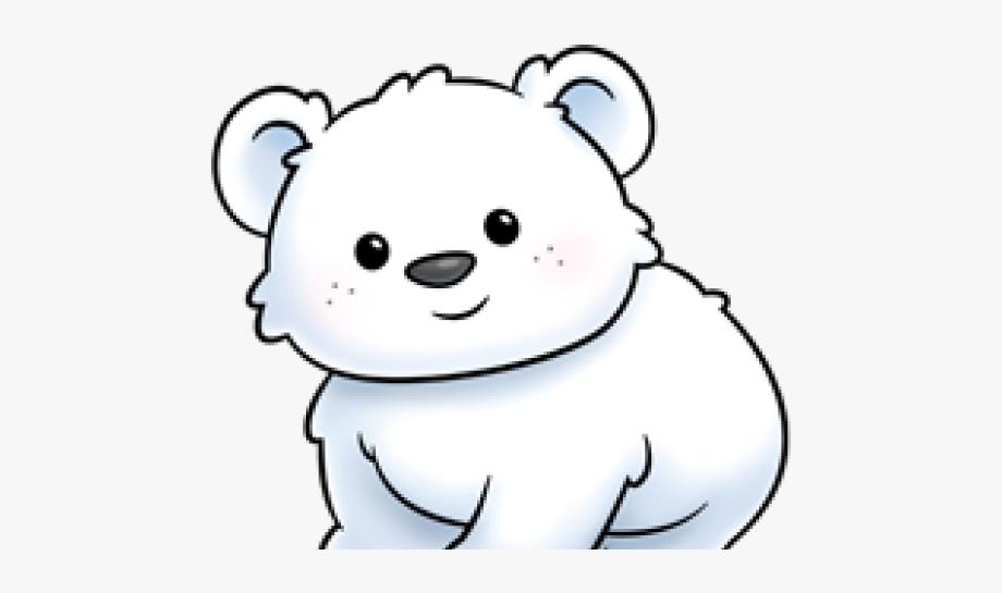 Baby Polar Bear Cartoon.